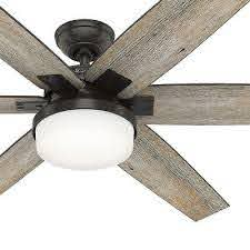 country ceiling fan and light
