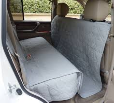 suv truck car back seat cover for dogs