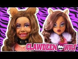 kids makeup clawdeen wolf monster high