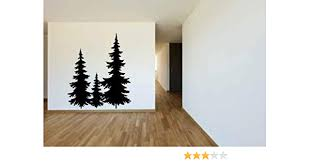 Amazon Com Fir Pine Trees Vinyl Home Decor Wall Decal Sticker Graphic Handmade