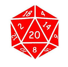 Dungeons And Dragons D D Inspired D20 Vinyl Decal Ftw Custom Vinyl