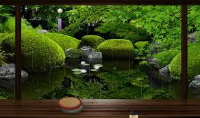 zen garden summer live wallpaper