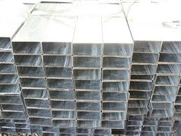 Hollow Section Factory Pre Galvanized Steel Pipe 60 40 For Fencing Posts Pregalvanized Square Tube Factory And Suppliers Reliance