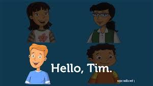 Tiếng Anh Trẻ em lớp 1. Phần mở đầu: Xin chào. - YouTube