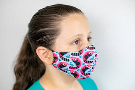 sew the olson face mask pattern child