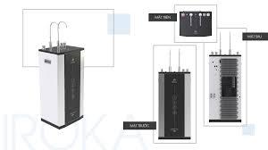 Máy lọc nước cao cấp Iroka Nóng Lạnh 9 cấp lọc Aqualast IR-NLNAQ