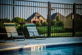 The Benefits Of Wrought Iron A Beautiful And Useful Pool Fence