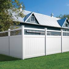 Outdoor Essentials Pro Series Lakewood 6 Ft H X 6 Ft W White Vinyl Baluster Top Fence Panel In The Vinyl Fence Panels Department At Lowes Com