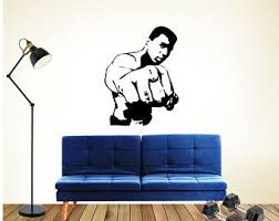 Boxing Wall Decal Etsy