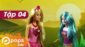 Chị Hai Bé Xíu- Tập 4- Công Chúa Đi Lạc- Búp Bê Barbie - YouTube
