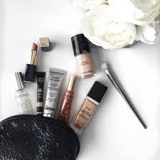 what is in my makeup bag march and may