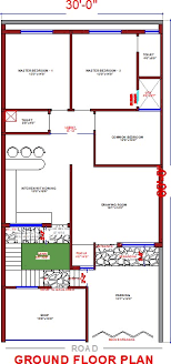 30x60 house plan home design ideas