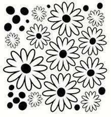 Dots Flowers Vinyl Wall Sticker Decals Set Popular Item For Girls Room Decor