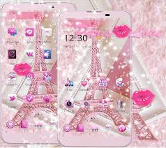 theme pink paris eiffel tower for