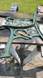 cast iron bench restoration