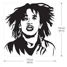Bob Marley One Love The Reggae Bands Vinyl Wall Art Decal
