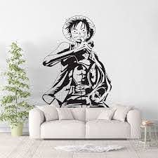 Monkey D Luffy One Piece Vinyl Wall Art Decal