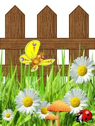 My Hand Made Fence Decoupage Printables Flower Fence Floral Border Design
