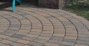 color and style for a patio driveway