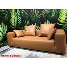 sofa square zwei ledersitze ior