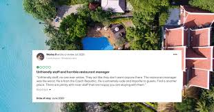 Thai resort sues US man who left 1-star TripAdvisor review about  'unfriendly staff' - Mothership.SG - News from Singapore, Asia and around  the world