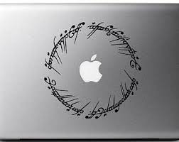 Tolkien Decal Etsy
