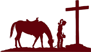 For Cowgirl Horse Praying Cross Western Rodeo Car Truck Window Vinyl Decal Sticker Various Sizes Car Stickers Aliexpress