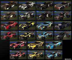 All Org Decals In One Image Rocketleagueesports