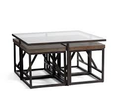 calvin coffee table with stools