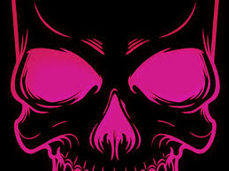 pink skull wallpaper 53 pictures