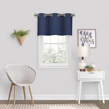 Eclipse Dayton Blackout Energy Window Valance Walmart Com Walmart Com