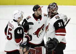 Hill gets 1st NHL shutout as Coyotes top Pred... | Taiwan News