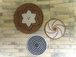 baskets for wall hanging woven wall