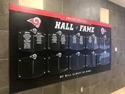 Hall Of Fame Display Team Fitz Graphics