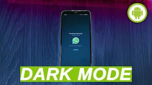 WhatsApp ecco il dark mode lo sfondo nero per le chat e finalmente ...