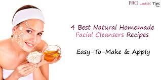natural homemade cleansers recipes