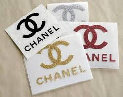 Chanel Iron On Decal Cc Iron On Patch Coco Chanel Glitter Iron On Applique Iron On Transfer Htv Heat Tran Chanel Stickers Chanel Decor Chanel Stickers Logo
