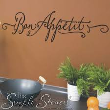 kitchen wall quotes words lettering decals stencils stickers