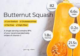 ernut squash nutrition facts