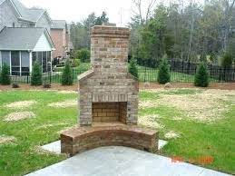 good cost free corner outdoor fireplace