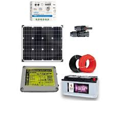 Solar Kit For Electric Fences 3j