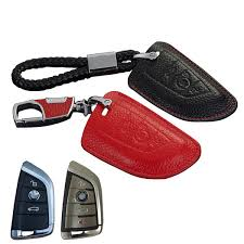 2020 genuine leather key fob cover for