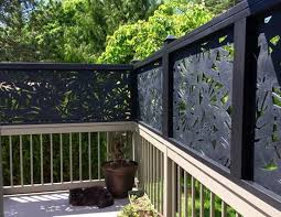 User Submitted Photo Deck Designs Backyard Privacy Screen Outdoor Outdoor Privacy