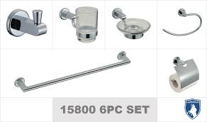 zinc chrome finish bathroom accessories