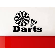 Shop Target Darts Wall Decals Vinyl Stickers Teens Boys Nursery Baby Room Home Decor Art Sticker Decal Size 22x26 Color Black Overstock 14084551