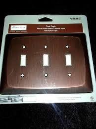 oil rubbed bronze switch plate covers
