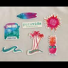 Pura Vida Other Puravida Sticker Pack 7 Poshmark