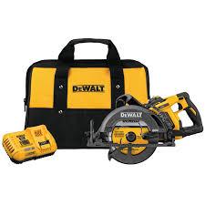 Flexvolt 60v Max 7 1 4 In Cordless Worm Drive Style Saw 9 0ah Battery Kit Dcs577x1 Dewalt