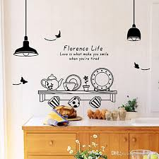 Kitchen Utensils Butterfly Letter Removable Wall Stickers Art Decals Mural Diy Wallpaper For Room Decal Home Decoration Sticker Quotes Wall Decor Sticker Wall From Eshop2019 6 86 Dhgate Com
