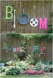 Diy Outdoor Projects 18 Lovely Fence Decorating Ideas